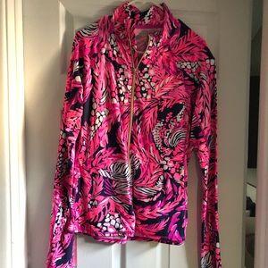 EUC Lilly Pulitzer luxletic jacket